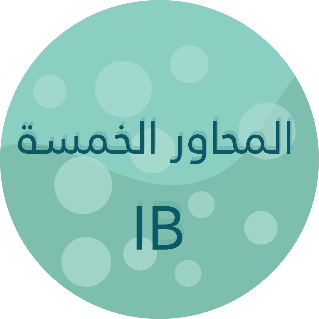 حسب وحدات البحث (PYP)